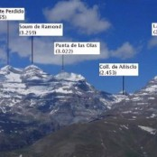 Picos para Escalar Ordesa-Monte Perdido, Marboré, Coll. de Añisclo