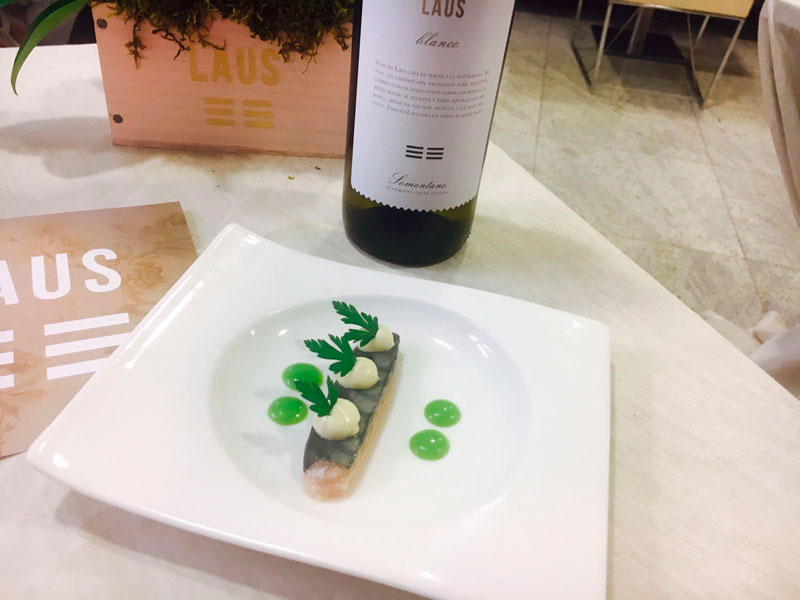 Muestra Gastronómica Restaurante San Ramón y Bodega Laus tapa 4