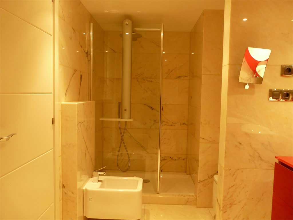Baño principal suite mirador:Ducha con jets de masaje