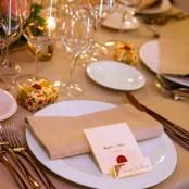 Decoración boda en Restaurante San Ramón del Somontano