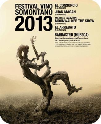 CARTEL 2013 FESTIVAL VINO SOMONTANO