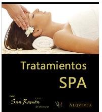 Tratamientos Spa del Hotel San Ramón del Somontano