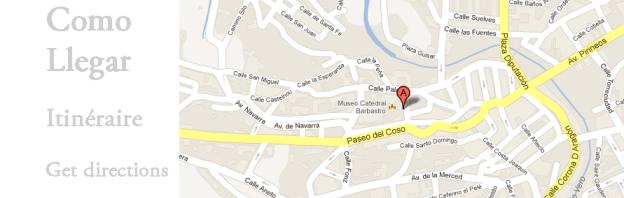 Como llegar a Hotel San Ramón Barbastro