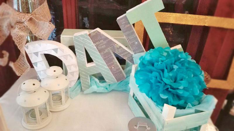 Comunión Barbastro decoración mesa dulce niño. - Restaurante San Ramón
