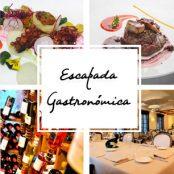 Escapada gastronómica con menú degustación y maridaje de vinos