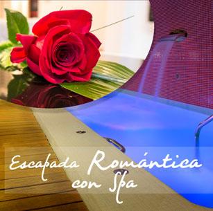 Escapada Romántica con cena enamorados y circuito spa para dos