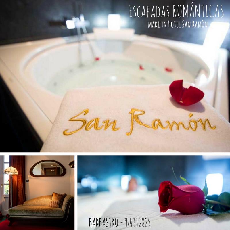 Escapadas románticas hotel San Ramón