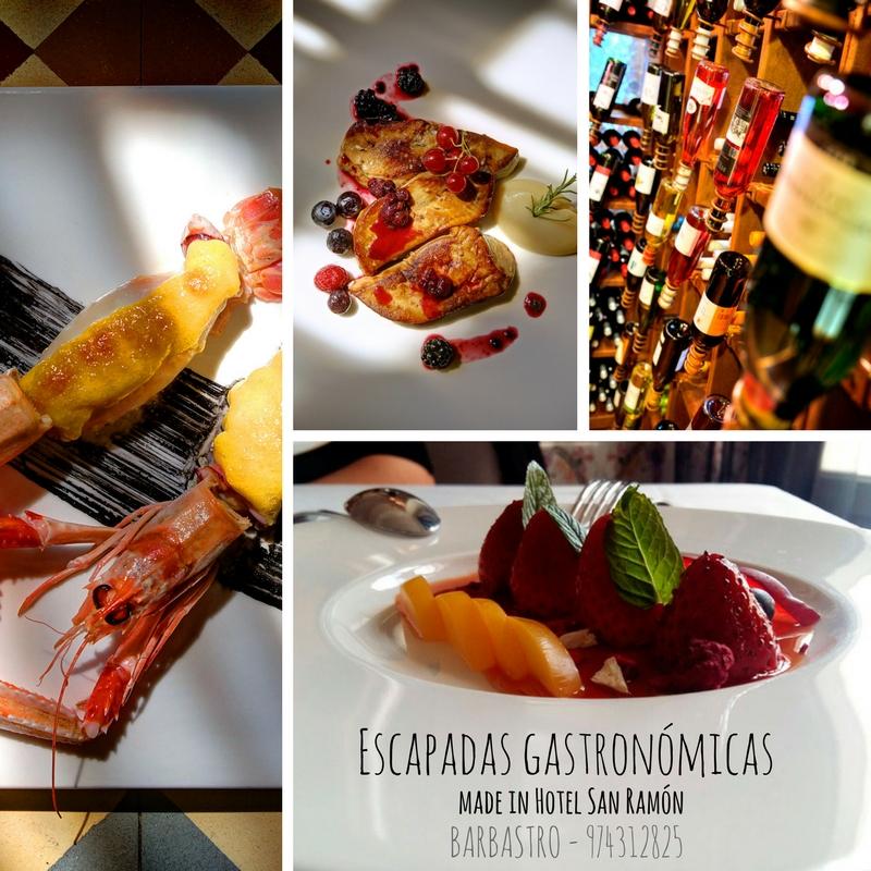 La labor del Restaurante en las Escapadas Gastronómicas
