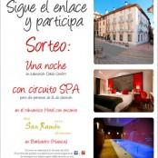 Celebrando el día de San Ramon: Sorteo de Noche de Hotel + Circuito Spa