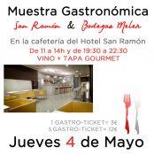 Muestra Gastronómica Restaurante San Ramón & Bodegas Meler.