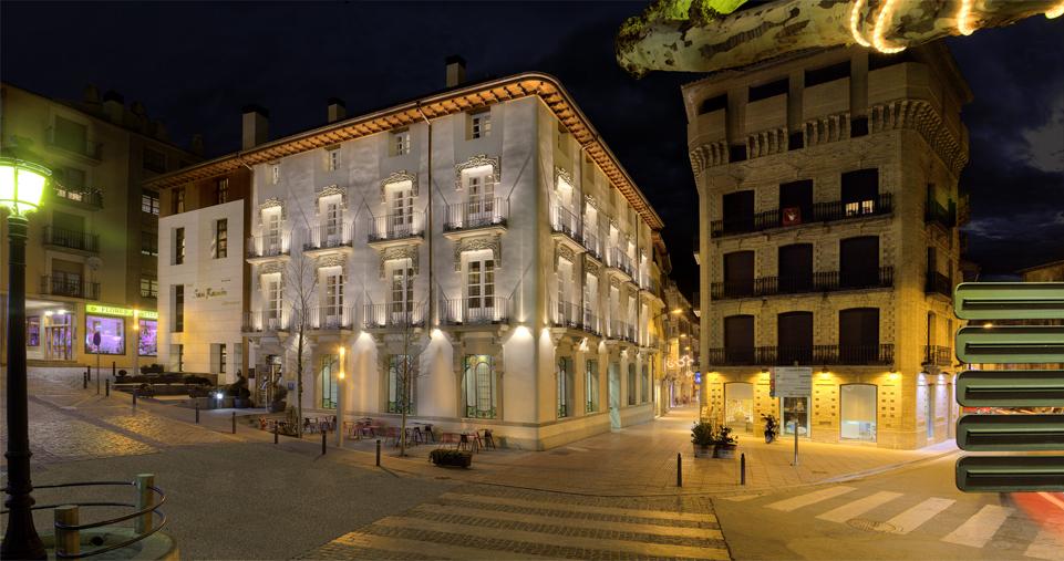 Fachada Hotel San Ramón del Somontano