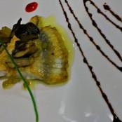 Nuestros pescados. Restaurante San Ramón del Somontano.