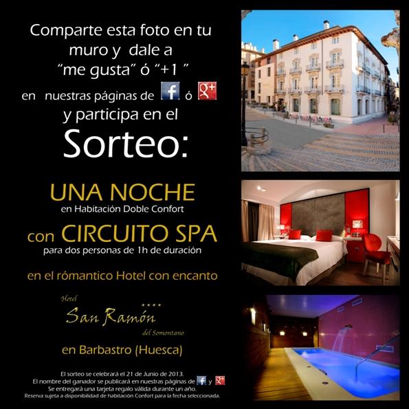 Sorteo Noche de Hotel + Spa