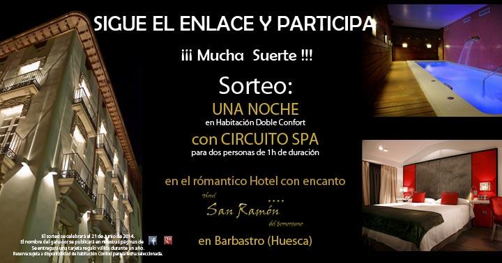 Sorteo noche hotel + Spa