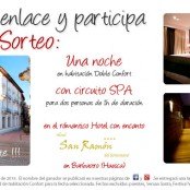 Especial día de San Ramón: Sorteo Noche de Hotel + Circuito Spa