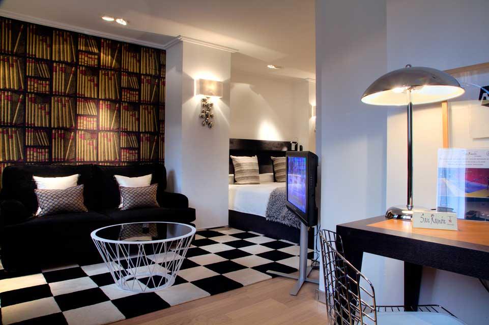 Mirador suite con jacuzzi para parejas rom ntico hotel for Decoracion de habitaciones para parejas