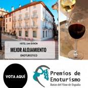 Vota por el Hotel San Ramón como mejor alojamiento enoturístico