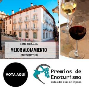 Mejor alojamiento Enoturístico: Hotel San Ramón
