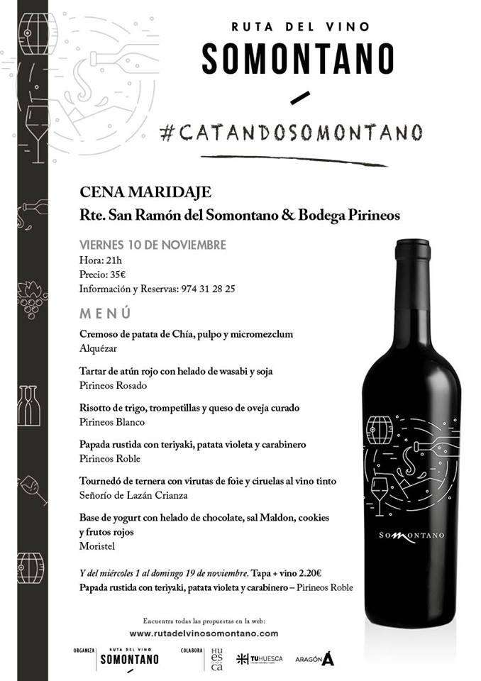 #catandosomontano 2017. Restaurante San Ramón & Bodega Pirineos