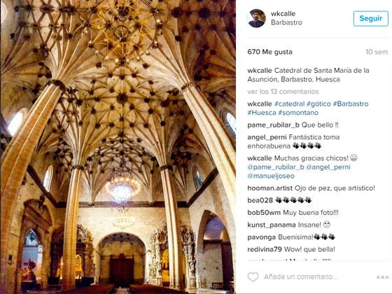 Catedral de Barbastro en Instagram