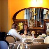 Romántica cena con menú especial
