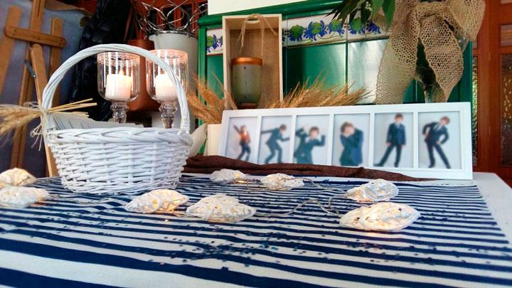 Comuniones Barbastro Restaurante San Ramón decoración mesas