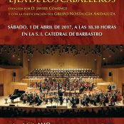 "Concert of ""Holy Week"" 2017 in Barbastro"
