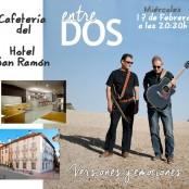 Conciertos cafetería Hotel San Ramón: Entre dos. Miéscoles 17 de Febrero de 2016