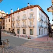 Vista exterior Restaurante San Ramón en Barbastro