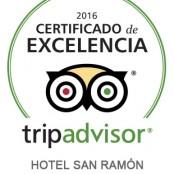 Hotel San Ramón del Somontano «Certificate of Excelence» Tripadvisor 2016