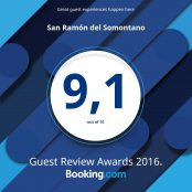 Hôtel San Ramón « Guest Review Award Booking » en 2016