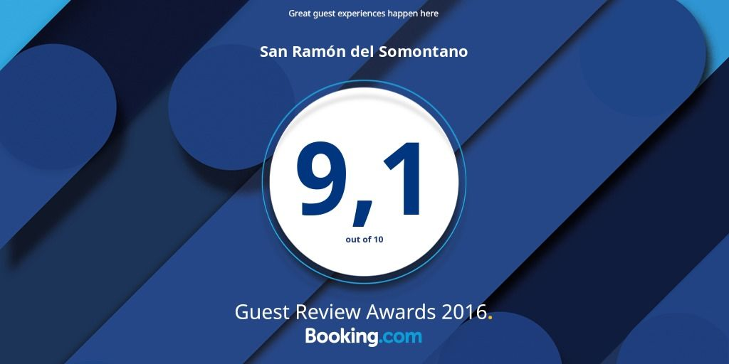 Hotel San Ramón Premio Guest review Adwards 2016 Booking Imgen horizontal