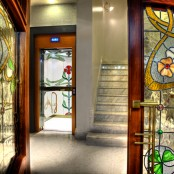 Entrada Hotel Spa en Huesca