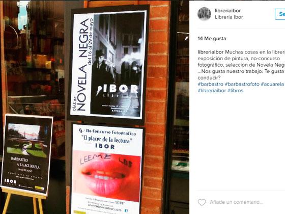 Librerías en Barbastro en Instagram