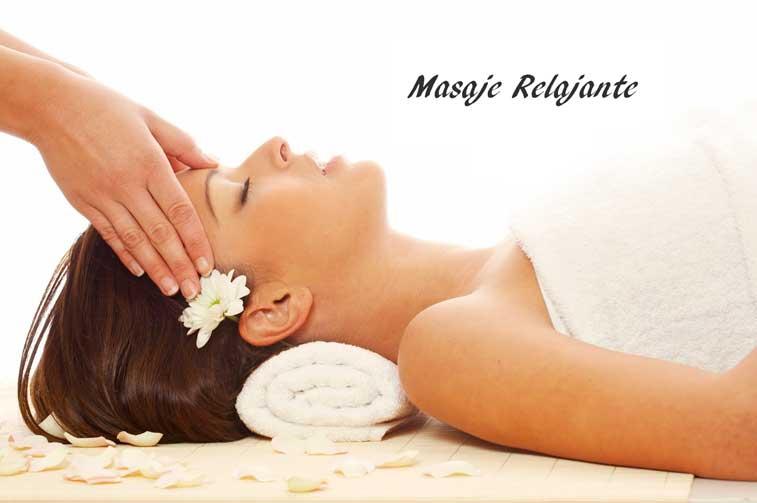 Masaje relajante de 60 minutos