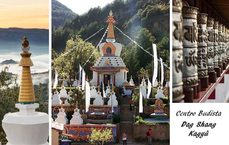 Meditación en centro budista Dag Shang Kagyü