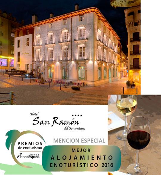 Hotel San Ramón del Somontano: Mención especial al mejor establecimiento enoturístico 2016