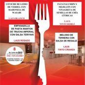 Muestra Gastronómica Restaurante San Ramón & Bodegas Laus.