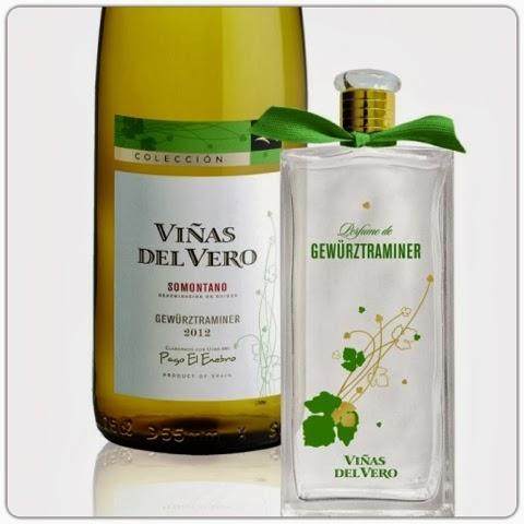 Set especial de perfume Viñas del Vero Gewürztraminer + botella de ese mismo vino