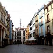 Barbastro: Plaza del Mercado. Imagen de Sara Lugo