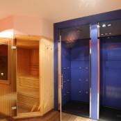 Sauna y duchas bitermicas