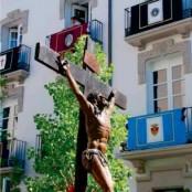 Semana Santa Barbastro, procesión diurna