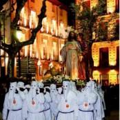 Semana Santa Barbastro, procesión de la Flagelación