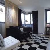 Suite de lujo San Ramón zona de sofas